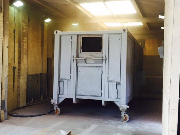 Facilities- Blasting shed